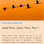 Lead Now. Learn How Part 1