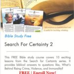 Search for Certainty 2