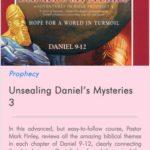 Unsealing Daniel Mysteries 3