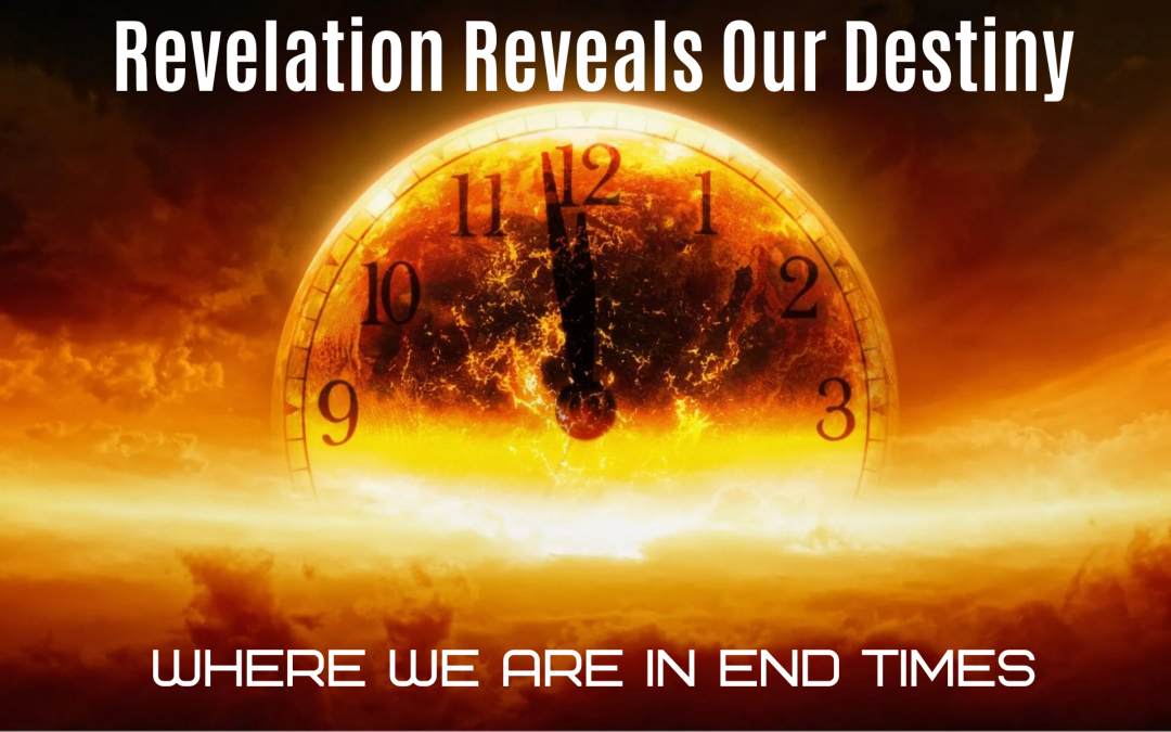 Revelation Reveals Our Destiny<br>Where we are in END TIMES by Mark Finley