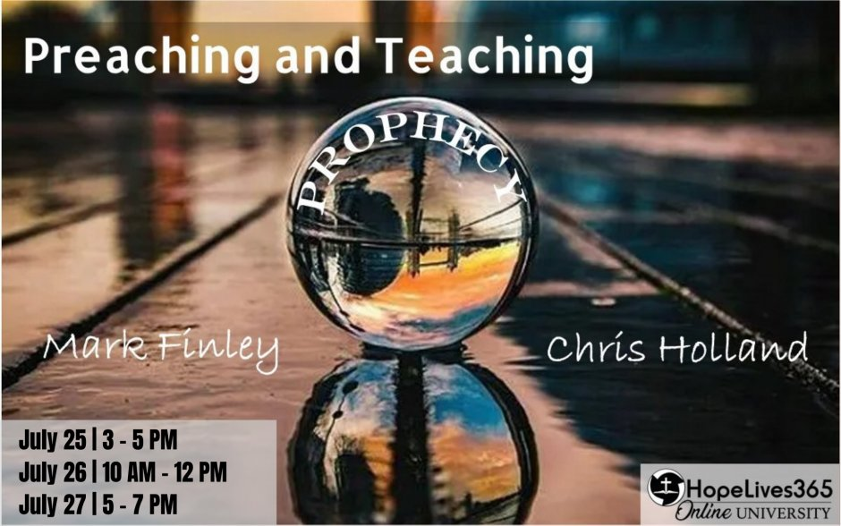 How to Preach and Teach Prophecy