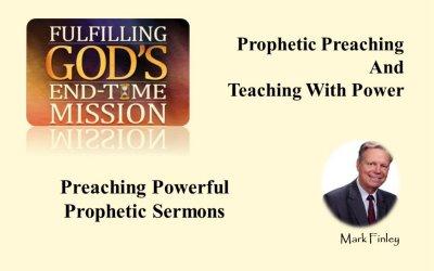 Preaching Powerful Prophetic Sermons<br>By Mark Finley