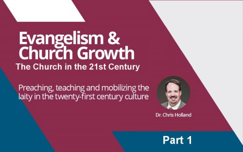 The Church in the 21st Century<br/>By Chris Holland