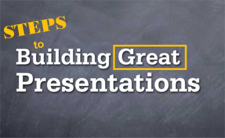Four (4) Steps to Building GREAT Presentations by Neville Neveling