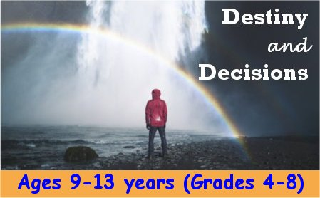 Destiny and Decisions Series by Dr. Sandra Doran<br>The Three Angels' Messages of Revelation 14 Presented to ages 9-13 years