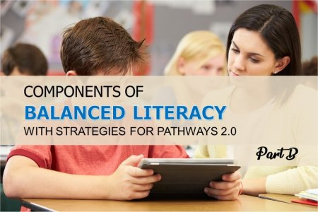 Components of Balanced Literacy With Strategies for Pathways 2.0-Part B<br>By Dr. Sandra Doran