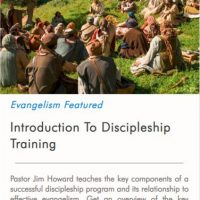Introduction to Discipleship Training