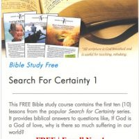 Search for Certainty 1