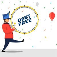 Celebrate freedom from debt