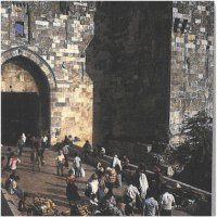 in the footsteps of Jesus