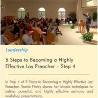 Lay preaching step 4